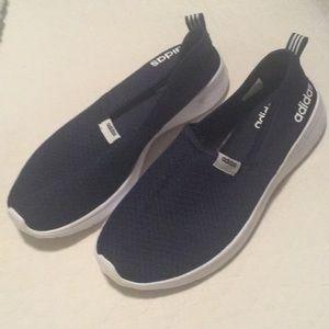 Adidas Neo Lite Racer Slip On Sneaker Navy 9